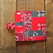 US Bandana Patchwork iPhone6/6s Case, Red