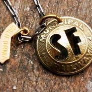 50's San Francisco Token Necklace サンフランシスコ・トークン・ネックレス