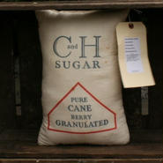 Vintage C&H Sugar Bag Pillow