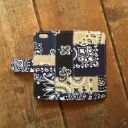 US Bandana Patchwork iPhone6/6s Case, Navy