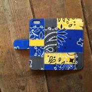 US Bandana Patchwork iPhone6/6s Case, Blue