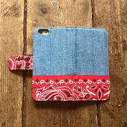Bandanna x Chambray  iPhone6/6s Case, Red