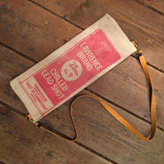 Vintage Lead Shot Pouch, Lawrence Red