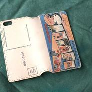 """Pictorial Wonderland of America"" iPhone6/6s Leather Case, ""Santa Fe"""