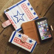"""Vintage Lead Shot Bag iPhone6/6s Case, """"STARSHOT"""""""