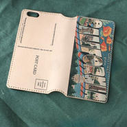 """Pictorial Wonderland of America"" iPhone6/6s Leather Case, ""California"""