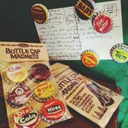 Vtg Bottlecap Magnets