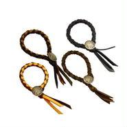 レザー 四つ編み インディアン コンチョブレス 10003176