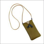 ハートコンチョ i-phone7 plus ホルダー(携帯ホルダー) i-phone7 plus 6plus対応 KHAKI 10007773