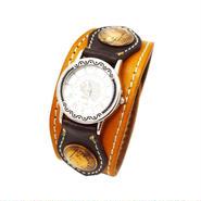 レザー リストウォッチ 牛革 腕時計 オールド 1penny コンチョ 10006855