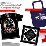 【特別先行予約5/16〜18 am7:00まで】ヨシケン5/31赤坂BLITZ「The Long and King's Road」Goods Complete Package