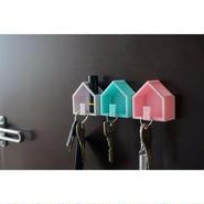 ハンコも置ける家型キーフック(1個)