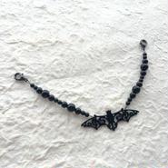 艶黒蝙蝠の羽織紐