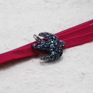 三分紐(青紫)