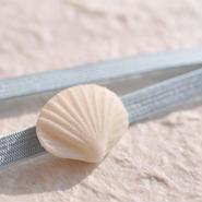 和三盆帯留「貝殻」