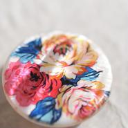 シェルの帯留 「薔薇のブーケ」