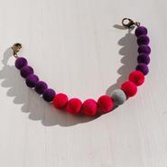 ベロア羽織紐(ベリー×紫)