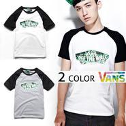 数量限定 【VANS】 バンズ 半袖Tシャツ男女兼用激安セール [VS-09]