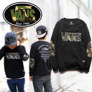 数量限定 【VANS】 バンズ 長袖Tシャツ男女兼用激安セール [VS-06]