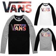 【VANS】 バンズ `長袖Tシャツ男女兼用激安セール [VS-15]