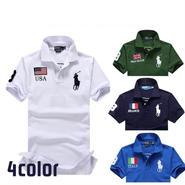 人気定番半袖 polo ポロシャツ4COLOR 「PL-06」