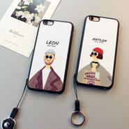 新作 大人気leon&matildaスマホケース iPhone5 iPhone6 iPhone6S Plus ケース