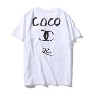 大人気 NIKE CHANEL COCO ナイキ シャネル ココ Tシャツ 半袖 人気新品 男女兼可「COCO-01」