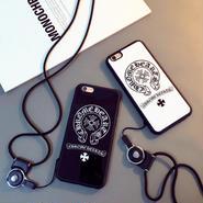 ★大人気★ 数量限定! CHROME HEARTS クロムハーツ ロゴ IPHONE  iphone アイフォン ケース[iphone-09]