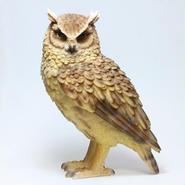 リアルな動物の貯金箱 【PET BANK OWL】LONGEARED OWL