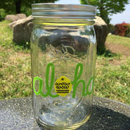 ワウワウレモネード Aloha  Logo 32oz Maison Jar Green/緑