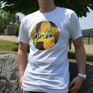 【ハワイ直入】ワウワウレモネード オリジナルTシャツ (パイナップルホワイト柄)