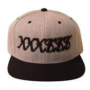 XXXSSS Tokyo Snapback (Grey X Black)