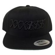 XXXSSS Tokyo Snapback  (Black x Black)