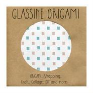 GLASSINE ORIGAMI the cube