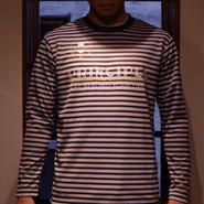 PRINCIPLE Long Sleeve Pra-Shirt [BLK×GRY]
