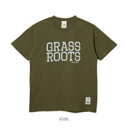 LUZ e SOMBRA GRASS ROOTS T-SHIRT【KHK】