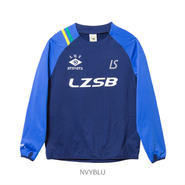 LUZ e SOMBRA THICK SIDE ZIP PULLOVER JERSEY【NVYBLU】