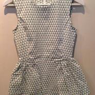 triangle pattern elasticity suffer cut sew