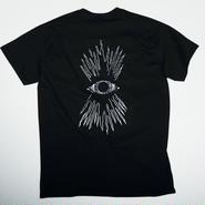 SECRET DUDE  Line of vision  T-shirts  BK