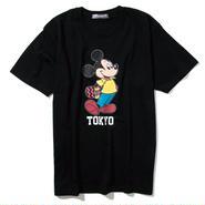 YOSHIDAROBERTO™DISNEY COLLECTIONスケボーミッキーマウスTシャツ(ブラック)