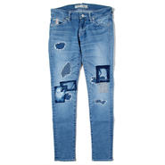 BLUE SAKURA 101XXZ BONE USED/H / BS17AW-LDP05