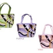 新商品【全3色】パステルスパンコール ミニトートバッグ