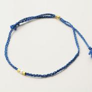 シルクコード×K24ヴェルメイユ bracelet BL