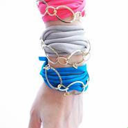 european stretch ribbon bracelet