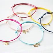satin cord bracelet