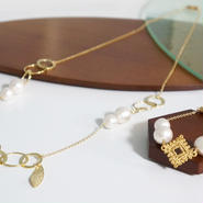 3way long necklace&bracelet