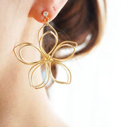 BIG flower pierce