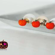 Halloween Limited 】 vintage-charm pierce