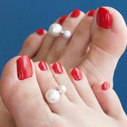 multi toe ring