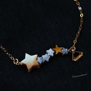 ★~shooting star necklace